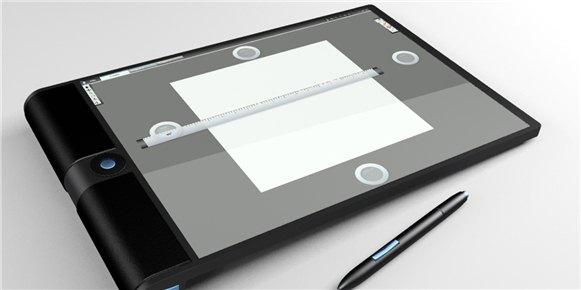 平板电脑正面高清图片素材