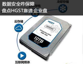 数据安全咋保障 盘点HGST靠谱企业硬盘