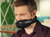 电话专用遮音口罩登场