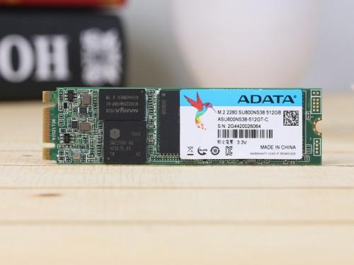 依旧3D NAND  威刚SU800 M.2 SSD首测