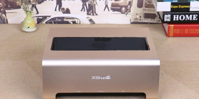 竟是反射式超短焦 小帅极光电影机评测