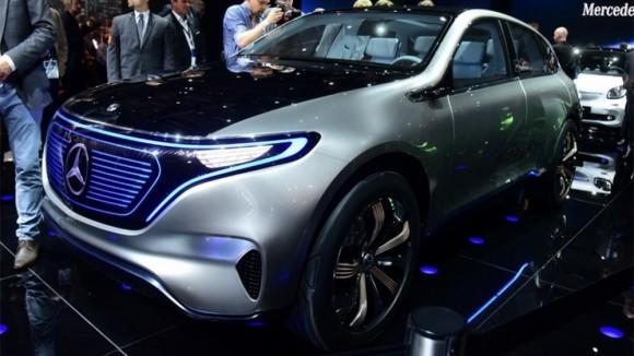 奔驰首款纯电SUV接受预定 2019年交付