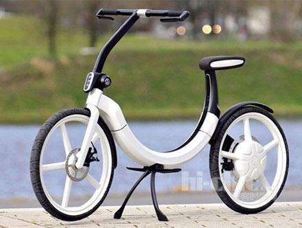 大众折叠电动两轮车Bik.e
