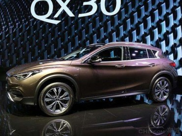 覆盖三车道 适合英菲尼迪QX30的智能镜